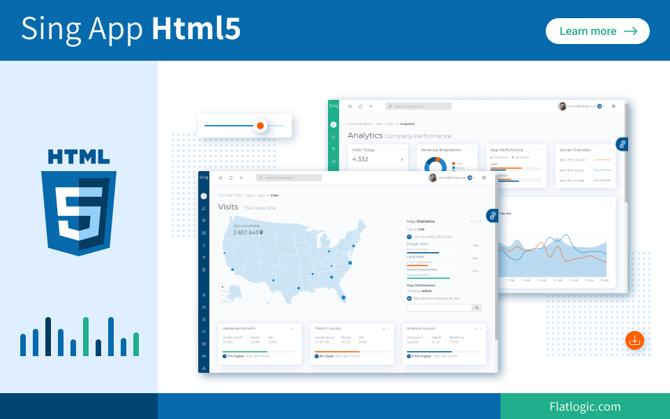Sing App Html5 - Bootstrap 4 Admin Dashboard Template