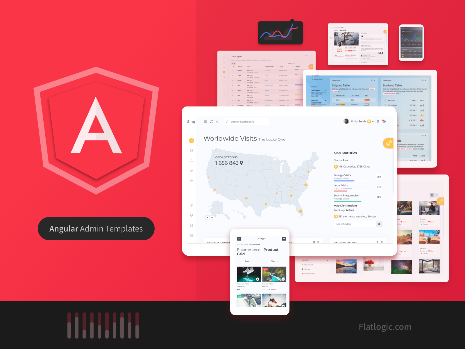 Top Angular Admin Templates in 2019 - Flatlogic - Blog