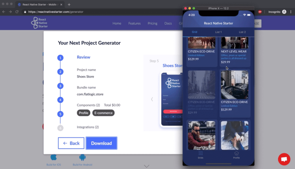 React Native App Generator on Product Hunt - Flatlogic - Blog