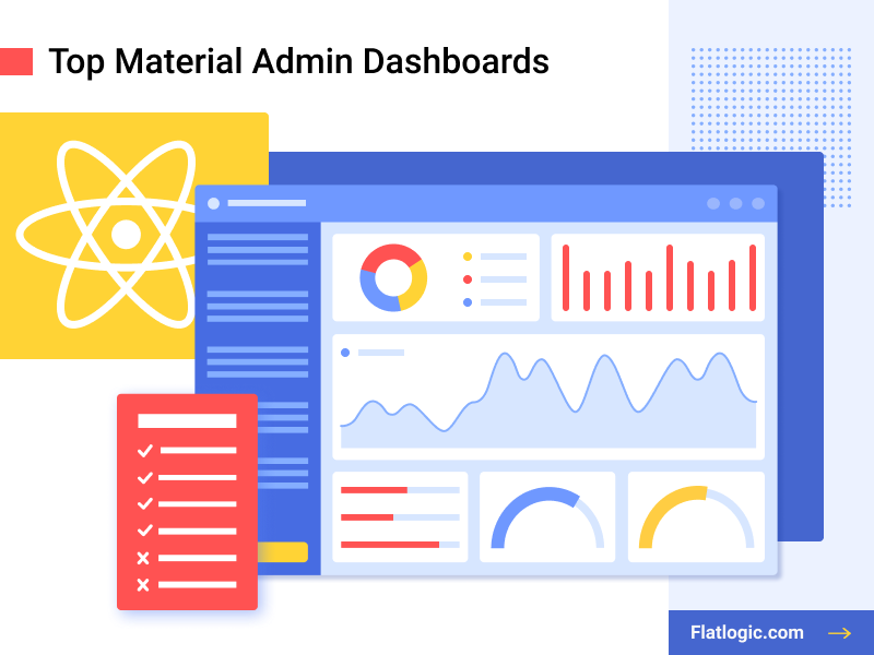 Top 8 Material Admin Dashboards