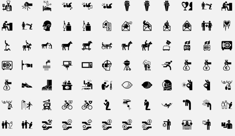 The Noun Project screenshot