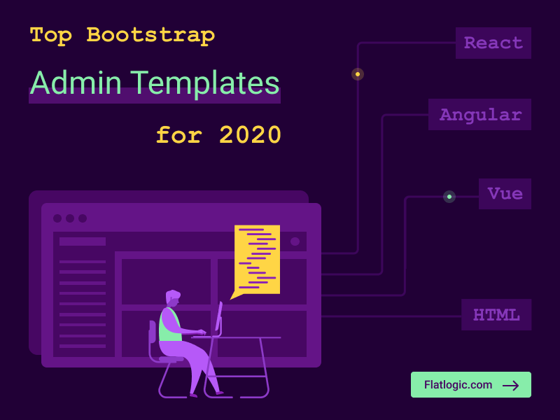 Top 19 Bootstrap Developer Friendly Templates for 2020