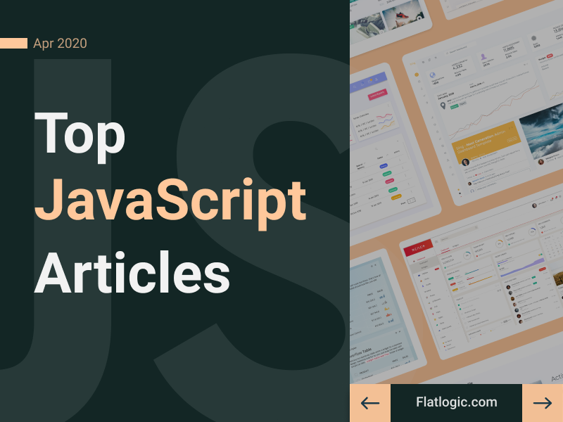 16+ Articles of April to Learn JavaScript