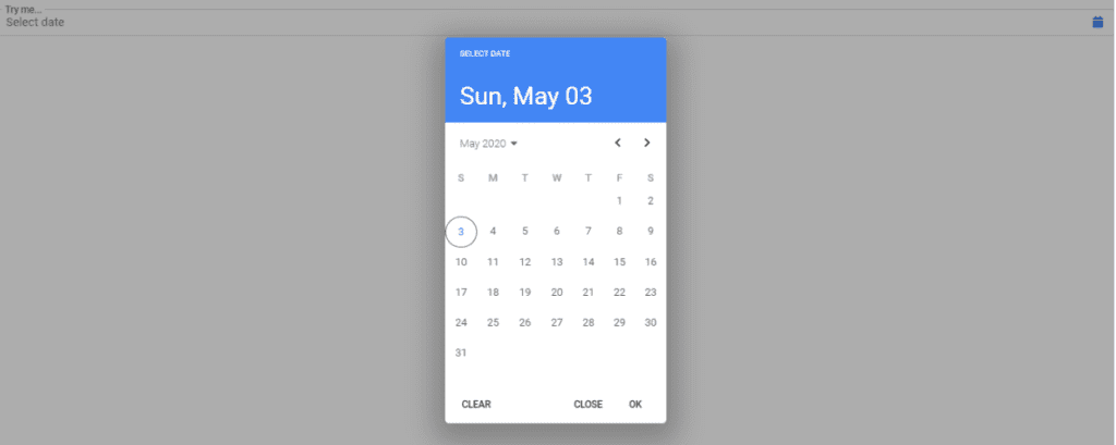 Bootstrap 4 Date Pickers Examples, Bootstrap date picker