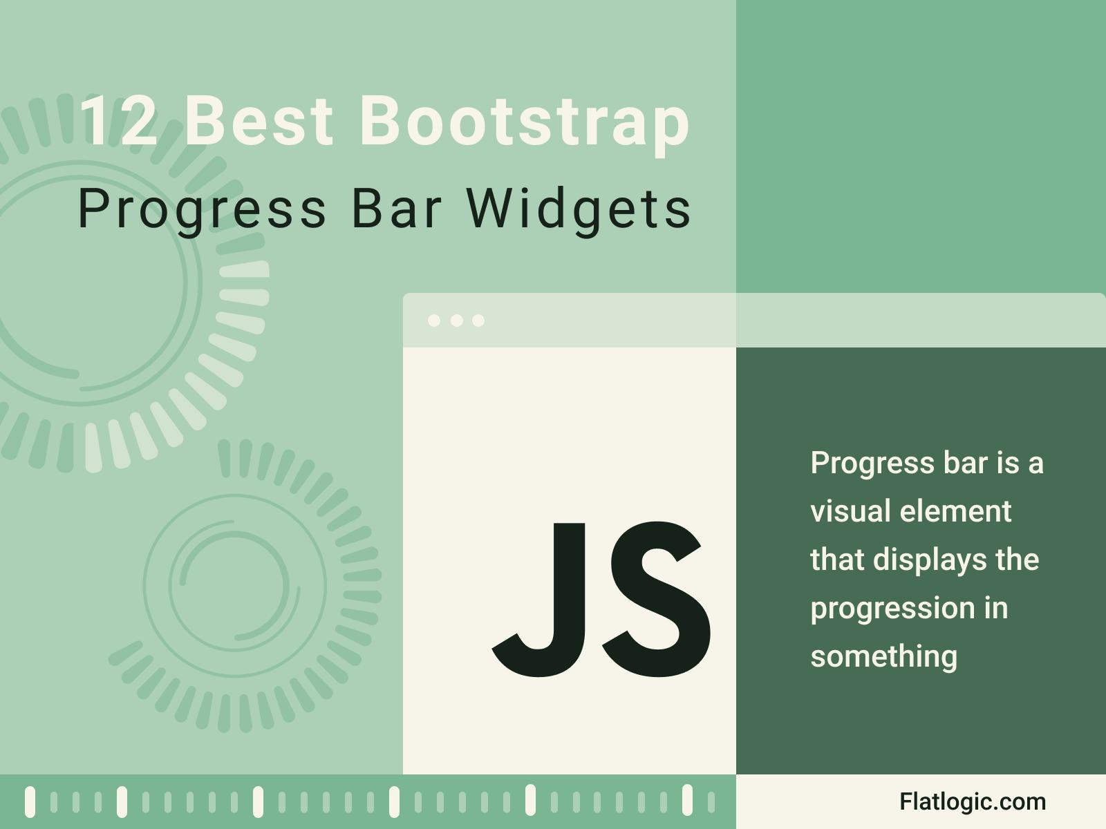 12 Best Bootstrap Progress Bar Widgets