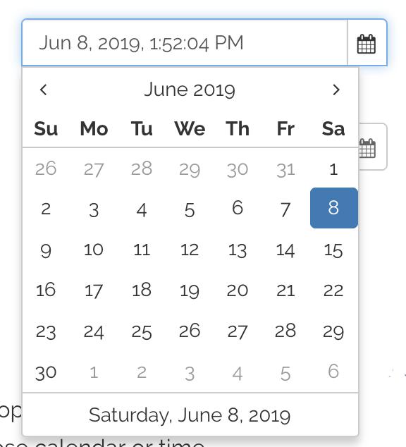 React-Widgets screenshot