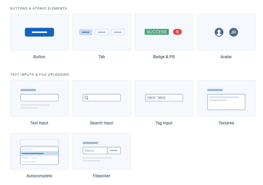 Evergreen UI screenshot
