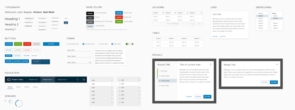 VMware Clarity screenshot