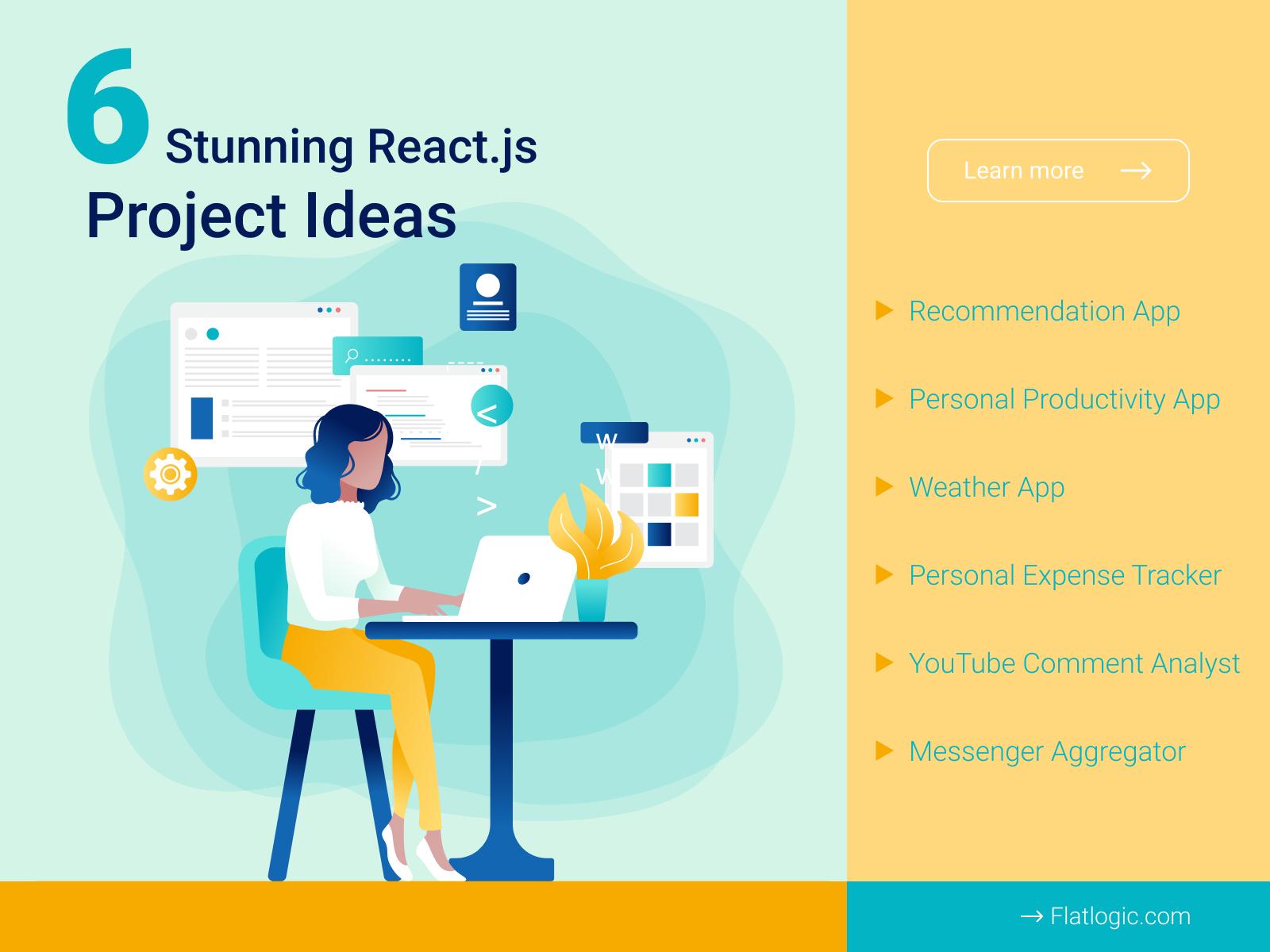 6 Stunning React.js Project Ideas - RapidAPI