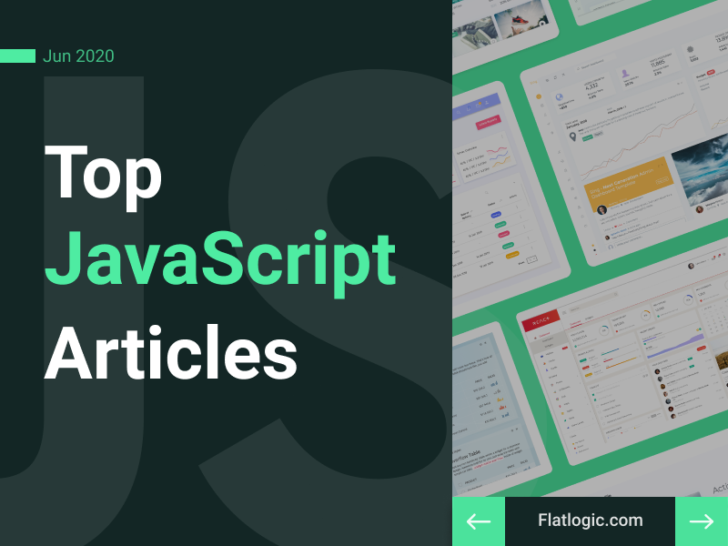 18+ Articles of June to Learn JavaScript