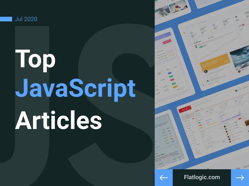 17+ Articles of July to Learn JavaScript
