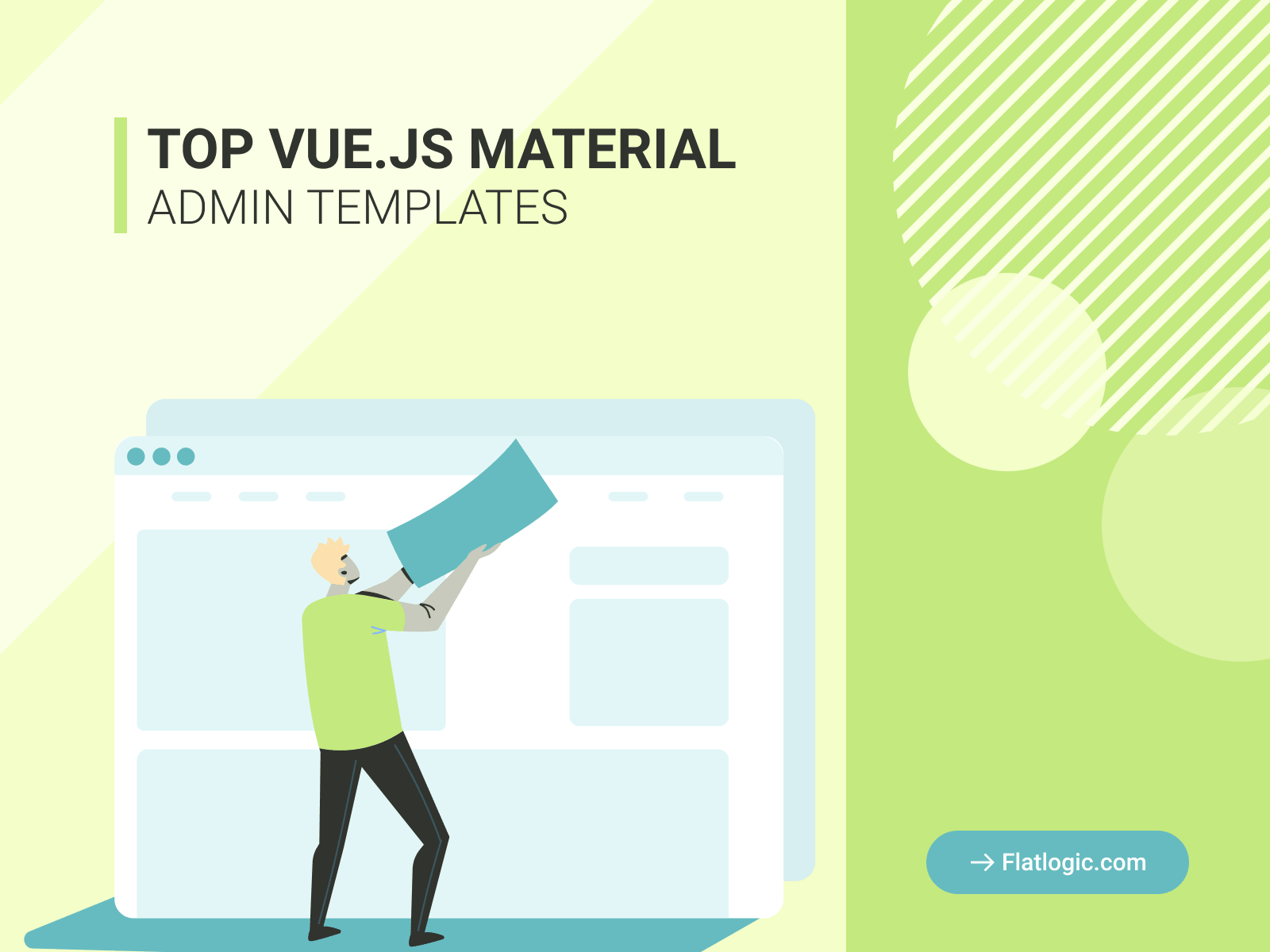 Top 7 Awesome Vue Material Admin Dashboard Templates Worth Your Attention - Flatlogic Blog