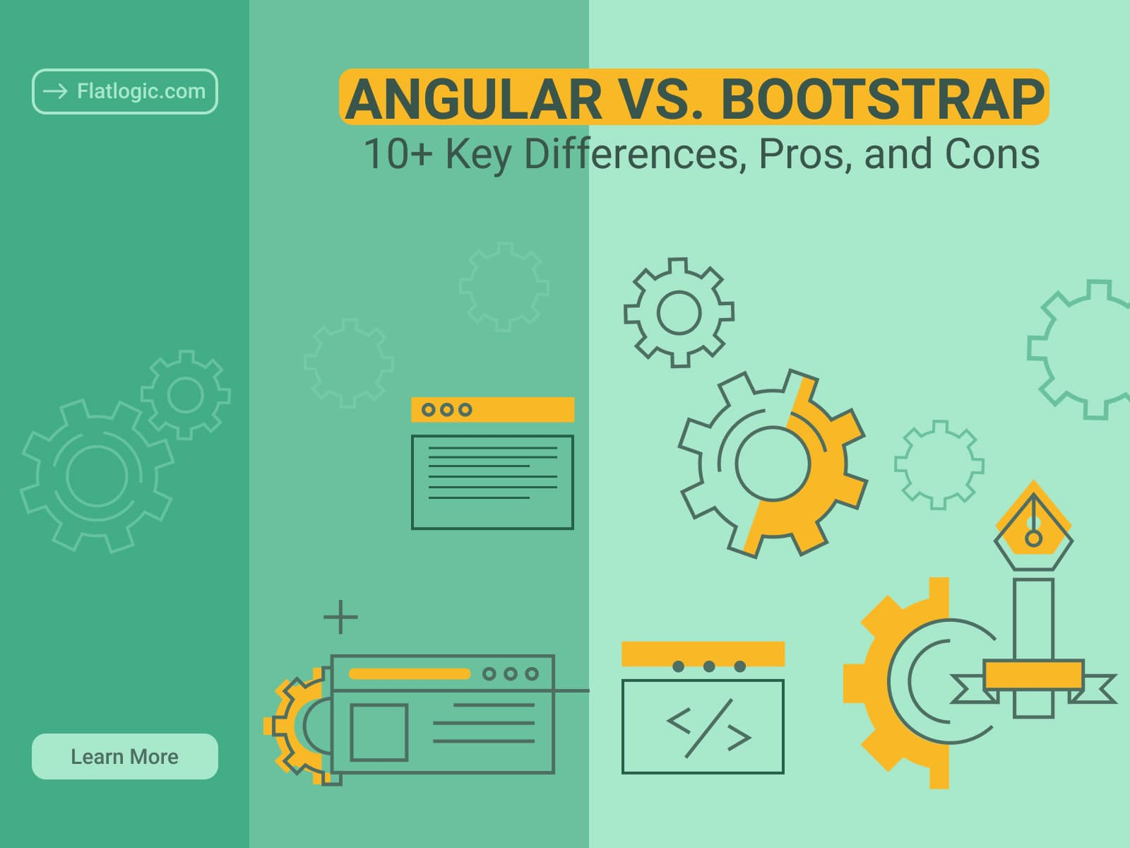 Angular vs. Bootstrap – 6+ Key Differences, Pros, and Cons