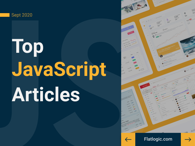 20+ Articles of September To Learn JavaScript