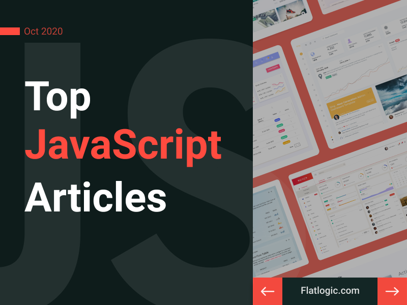 16+ Articles of October To Learn JavaScript