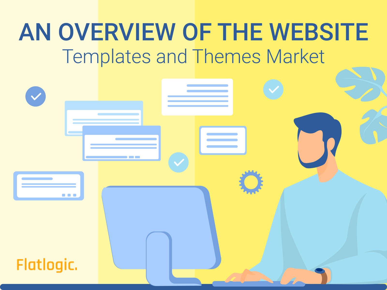 An Overview of the Website Templates and Themes Market - Flatlogic Blog