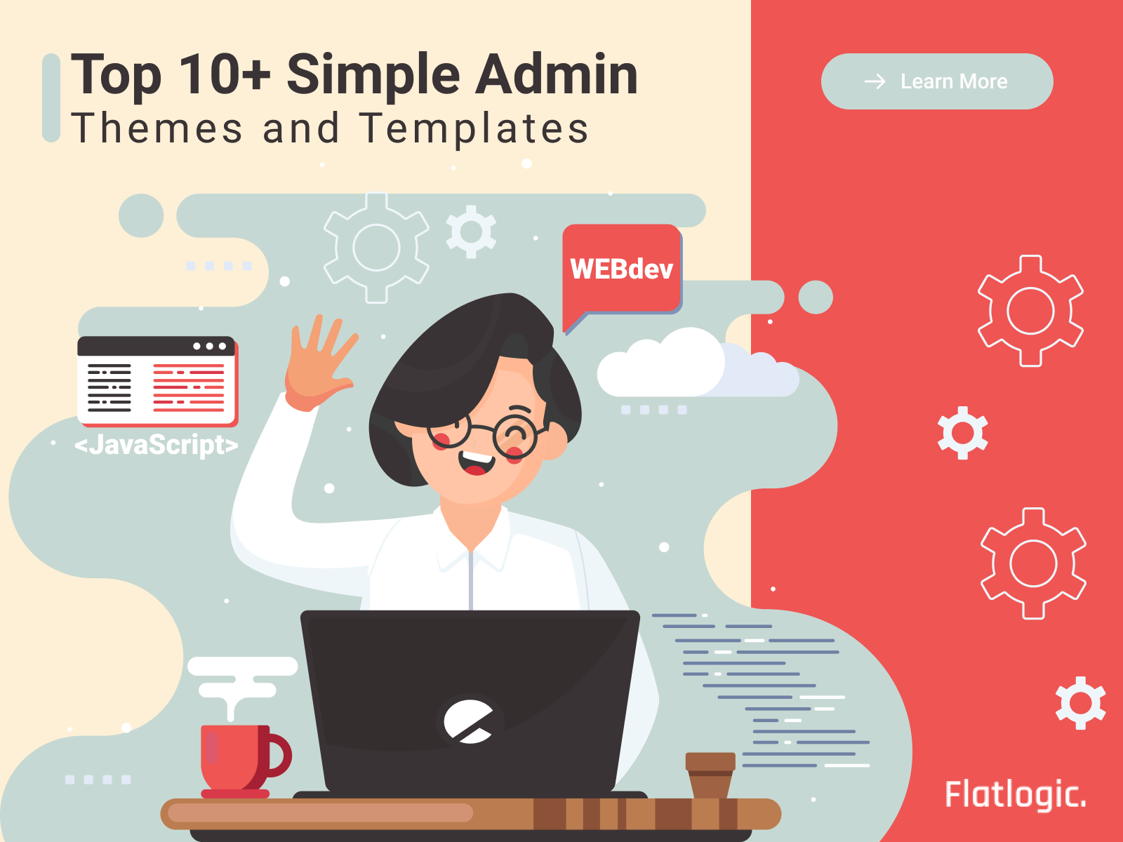 Top 10+ Simple Admin Themes and Templates