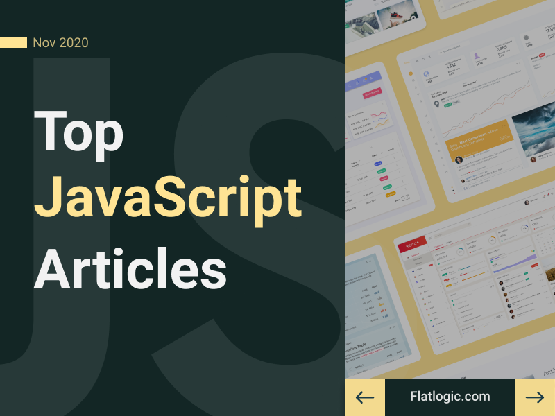 12+ Articles Of November to Learn JavaScript