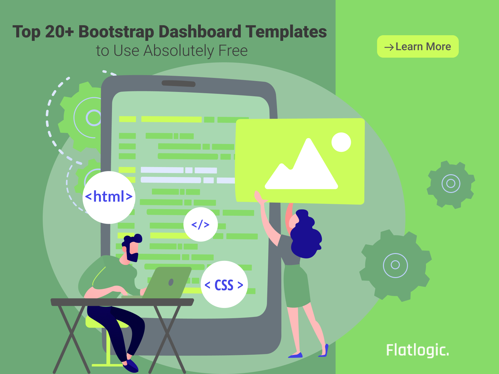 Top 20+ Bootstrap Dashboard Templates to Use Absolutely Free - Flatlogic Blog