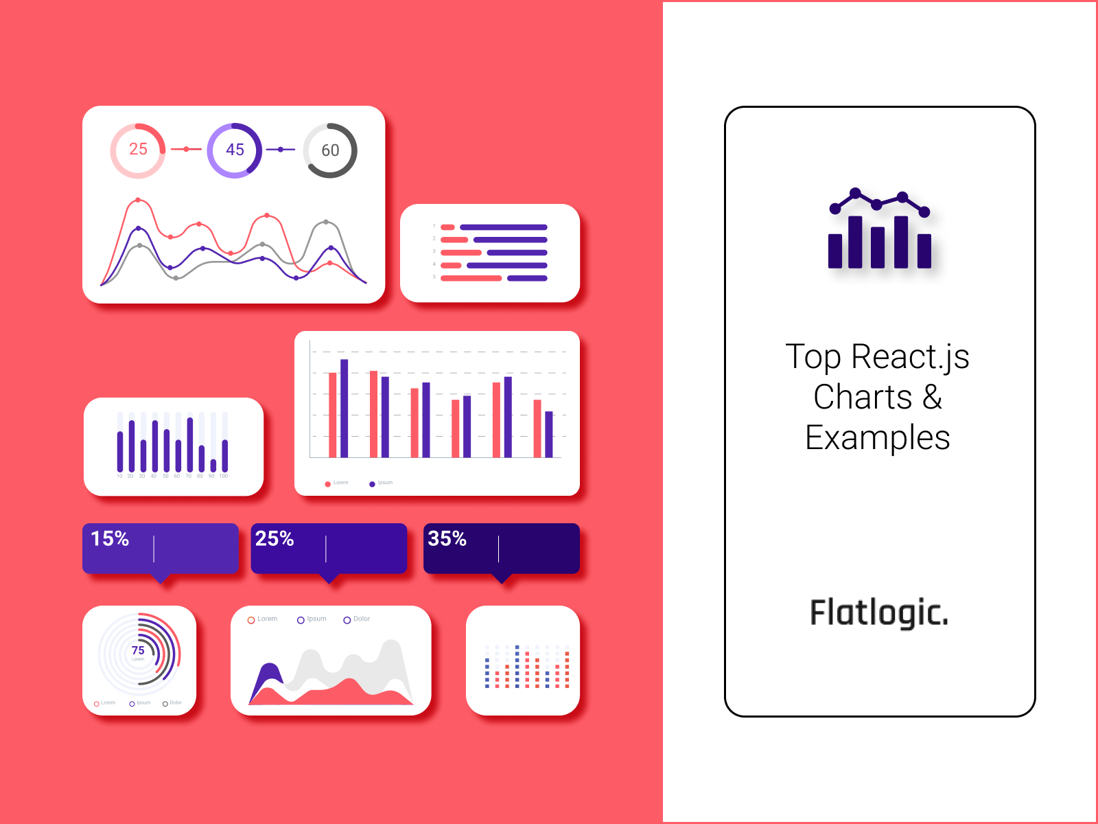 Top 30 Open Source and Paid React Charts + Examples
