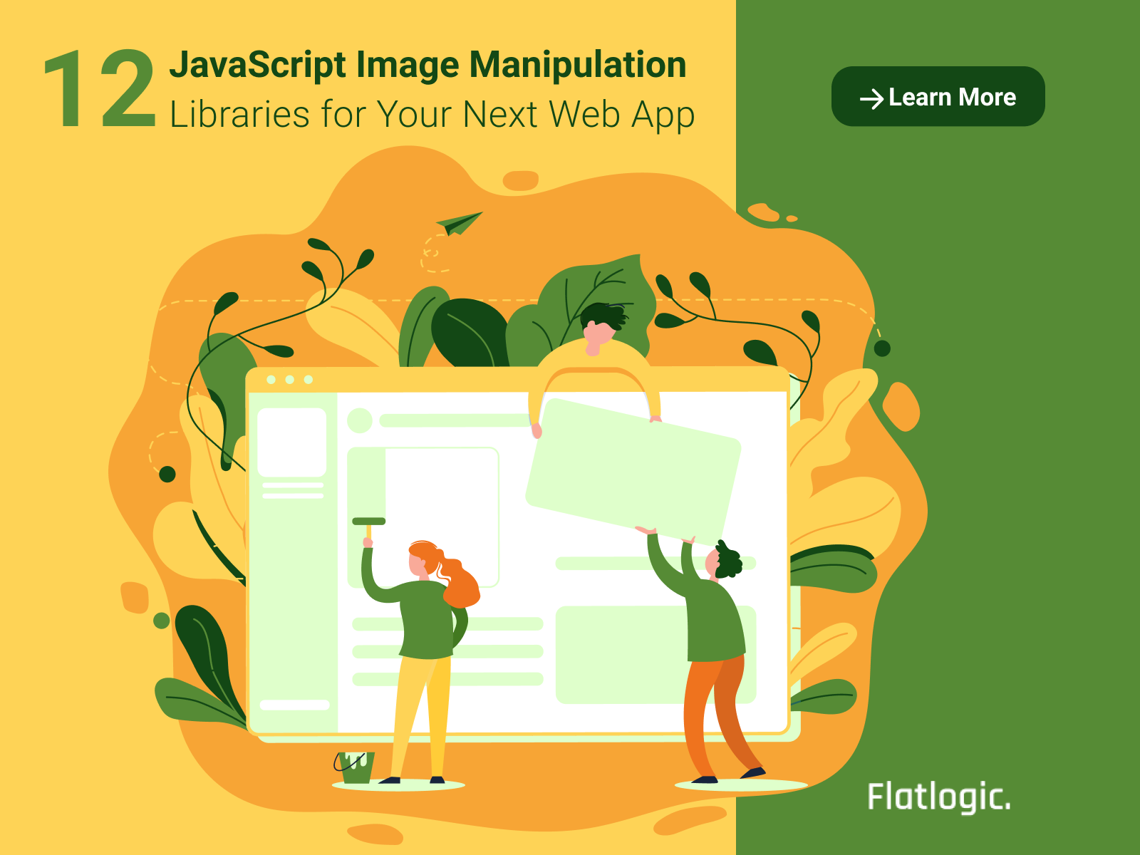 12 JavaScript Image Manipulation Libraries for Your Next Web App