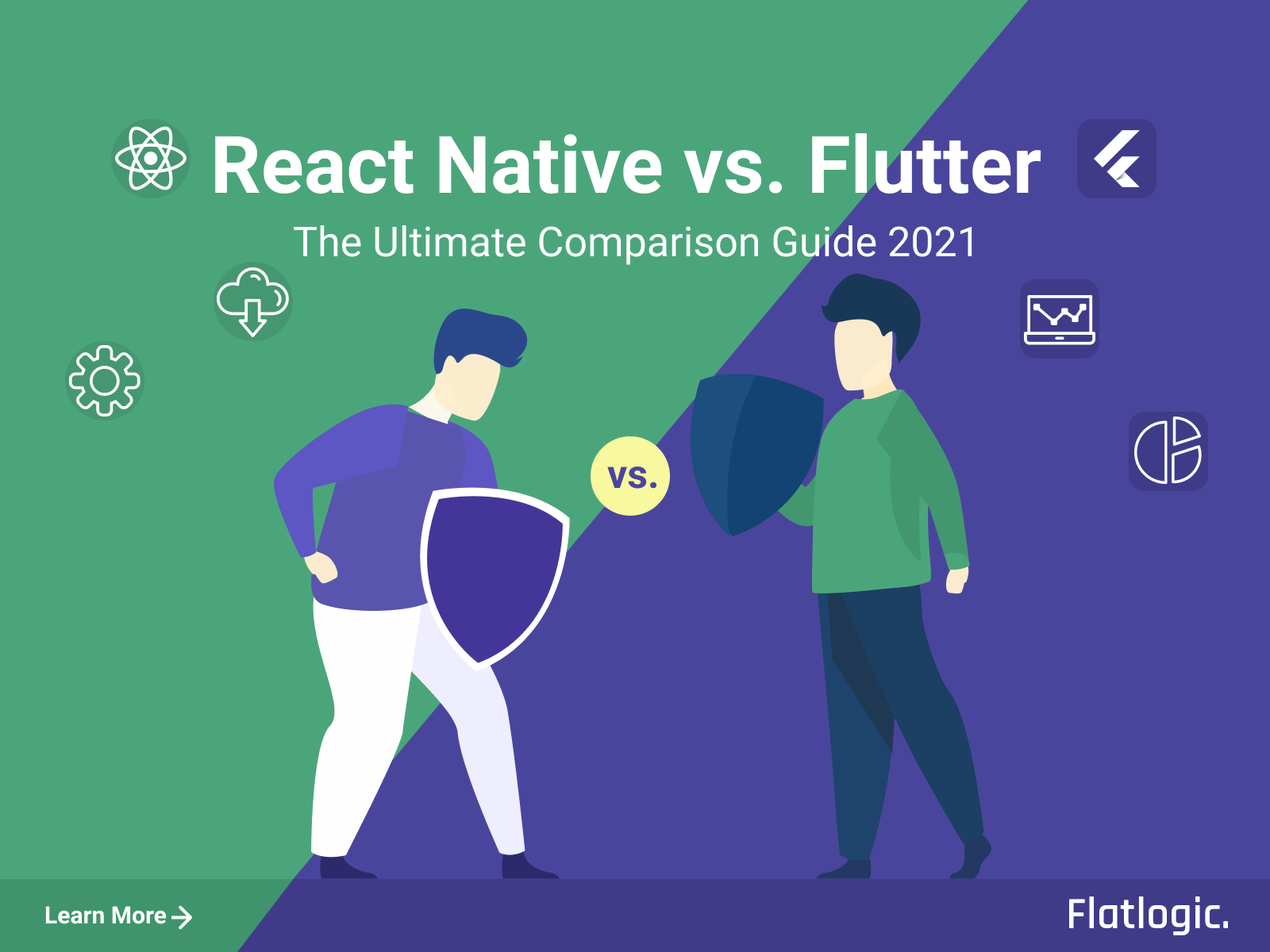 React Native vs. Flutter: The Key Differences Every Mobile App Developer Should Know in 2021 [Guide for Beginners]