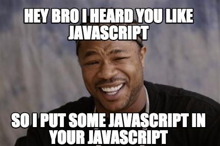 javascript meme