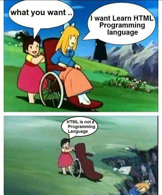 learn programming language | html jokes