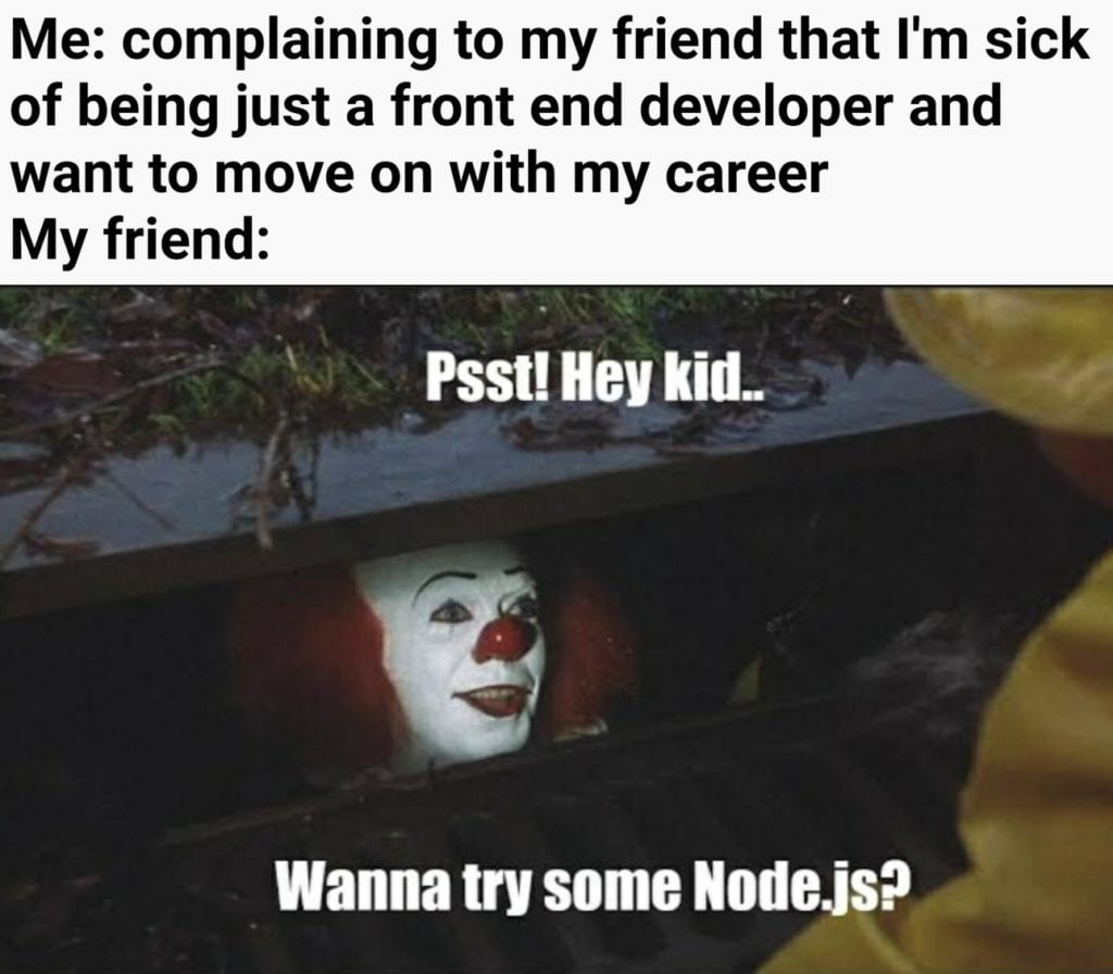 nodejs meme