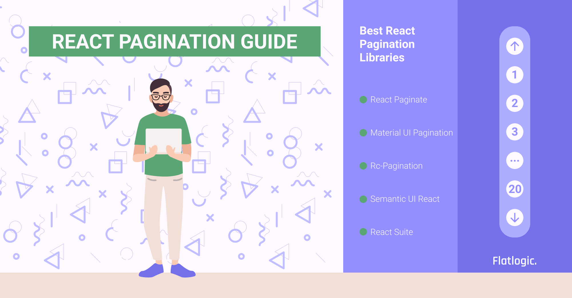 React Pagination Guide And Best React Pagination Libraries - Flatlogic Blog