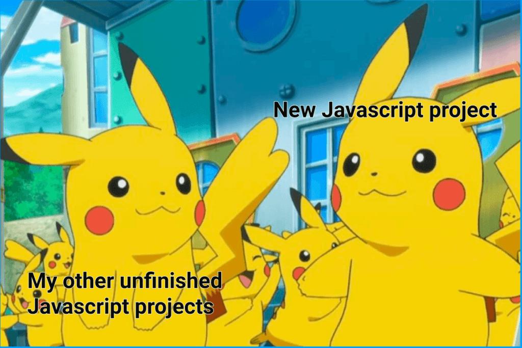 javascript project | javascript meme