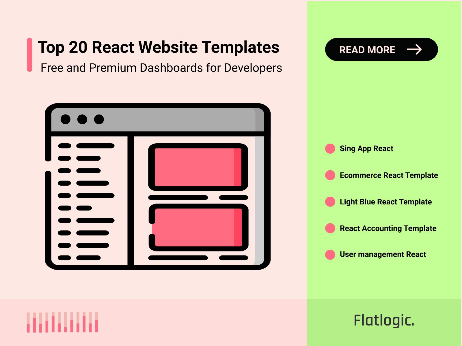 Top 20 Best React Website Templates for React Developers [Free and Premium]