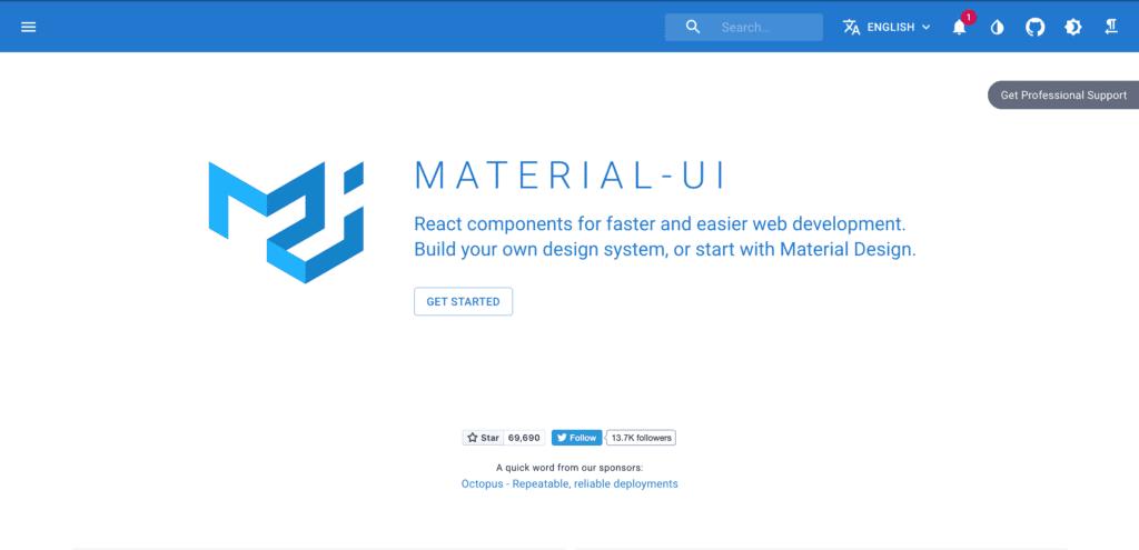 material Bootstrap Alternative