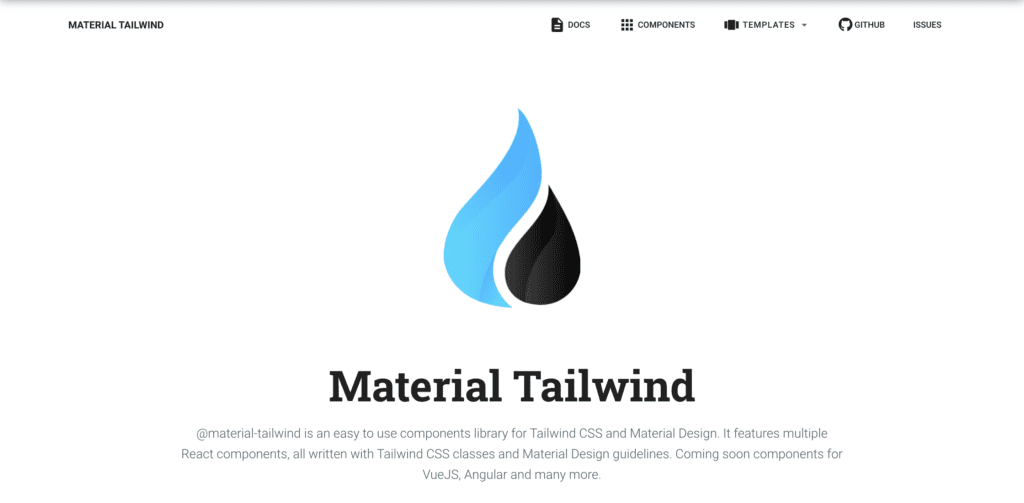tailwind Bootstrap Alternative