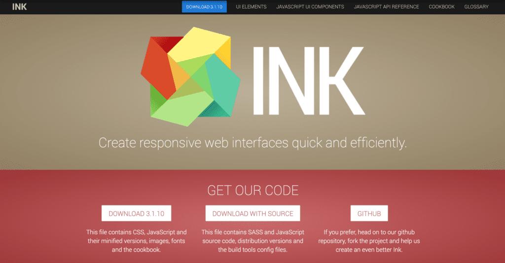 Bootstrap Alternative ink