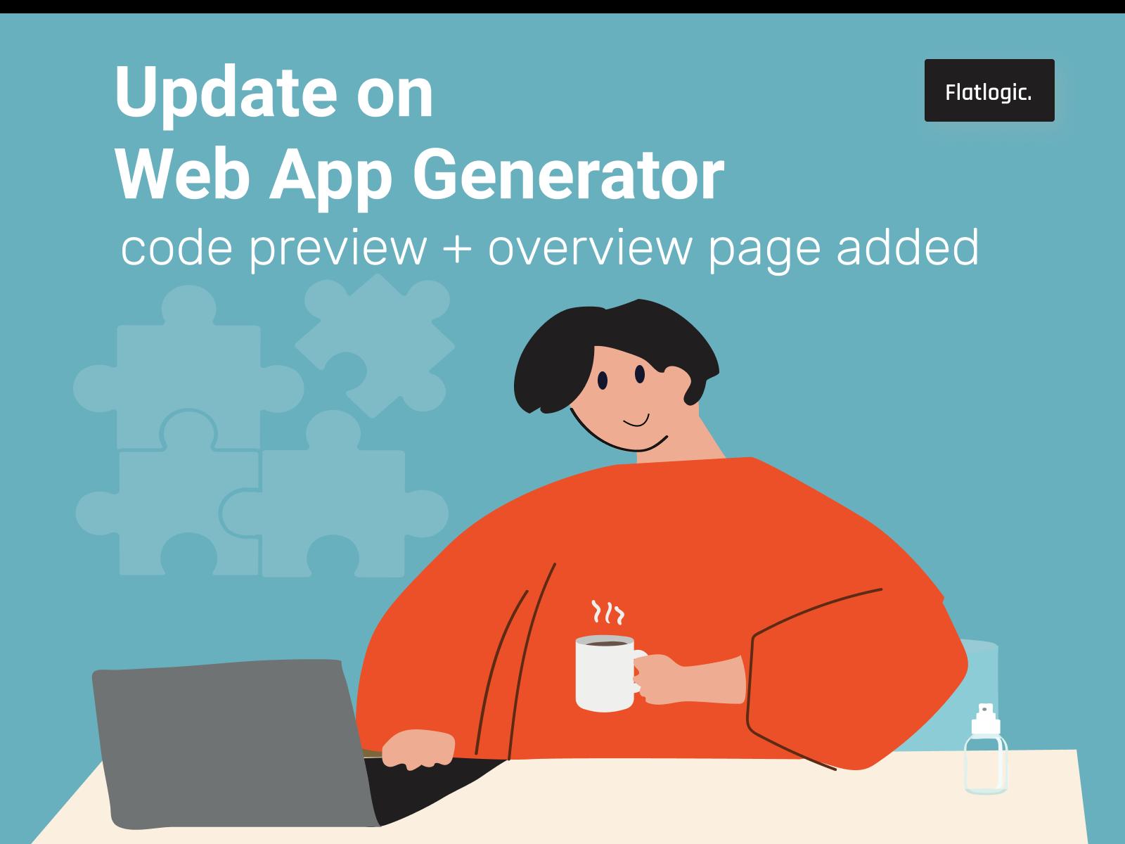 🆕 Update on Flatlogic Web App Generator!